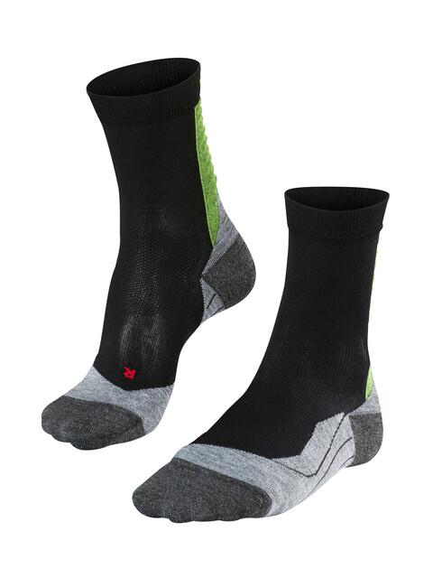 Falke Achilles - Chaussettes course à pied Homme - noir
